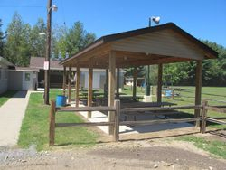 after-  covered  picnic area
