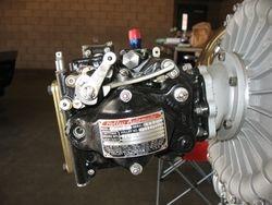 Holley aircraft carburator