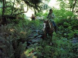 Tasha and Jodene by French Creek