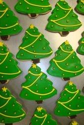 Christmas tree cookies $3 each