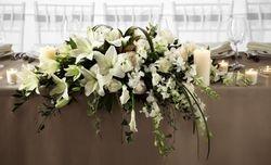 Bridal Table Arrangement   #R3