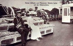 Kejsare Wilhelm 29 juli 1907