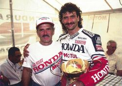 Bol d'or 1989. 2eme. Avec Yvon