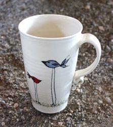 Birds Mug ~ Side 2