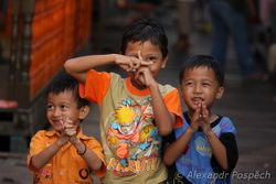Boys in Kampung Baru