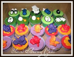 CC24 -Golf & Orchids Cupcakes