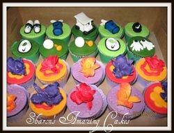 CC24 -Golf & Orchids Cupcakes