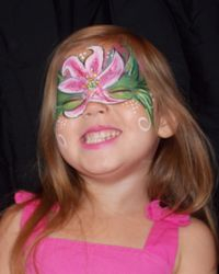 Face Painting of a Lily
