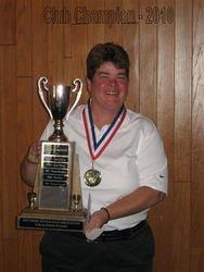 Lynn King- 2010 Club Champion