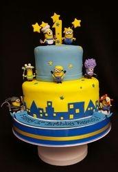 Dispicalbe Me - Minion Cake