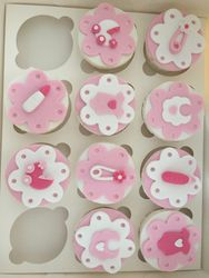 Its a girl cupcakes