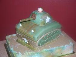 U.S. Army Tank Cake
