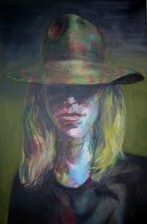 """""""L'homme au chapeau à fleurs"""""""