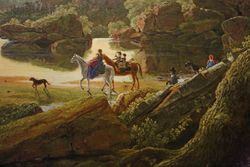 Church, Hooker and Party Travels Through the Wilderness in 1636 to Hartford, 1846, Wadsworth Atheneum