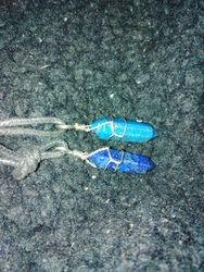 Pendel i Lapis Lazuli/Pendelum in Lapis Lazuli 2 och/and 3