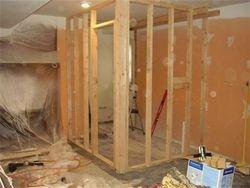 Framing for bathroom walls