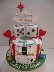 Casino/ Las Vegas Cake 2 (SP016)