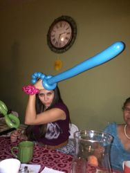 Bonita with Sword