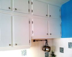 Top Cabinets close-up