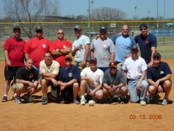 Softball Tournament - Cohnway far left, front row