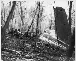 Tail section. Photo courtesy of the Williamsport Sun Gazette archive.