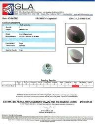 2,654.50CT Oval Cut Cabochon Jade Gemstone