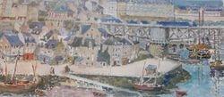 Le vieux pont tournant (Arsenal Brest)