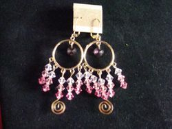 Pink Swirls (Item #3015)  $15.00