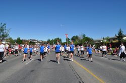 Airdrie Sky High Twirlers, Canada Day 2012