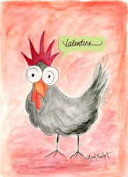Valentine, be my chick!