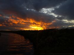 Stretham sunset