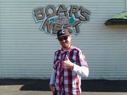Tyler Roesner @ The Boar's Nest