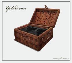 Goblet case interior