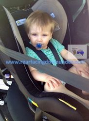 16 months old Infa-Secure Kompressor Rear-Facing