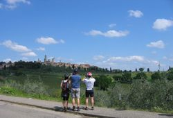 Distant View of San Gimignano
