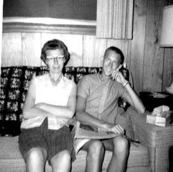 Ila Herman and Dennis Herman