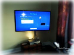 "60"" flat screen tv on a Chief T525TU mounting bracket installation"