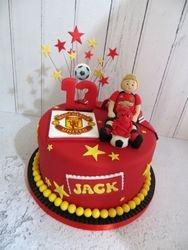 Manchester United Birthday Cake