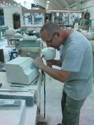 James Masoning his Cema Recta Design