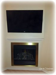 "46"" flat screen tv installation"
