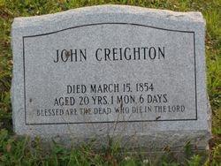 John Creighton (1834-1854)
