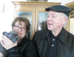 Ollie, Raymond & Marijane - April 5, 2014