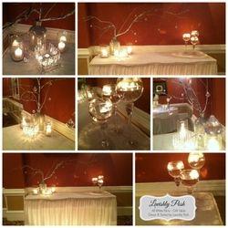 Gift Table - Decor & Styled by Lavishly Posh