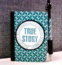 Mini Composition Book with Matching Pen