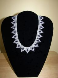 African Netted Necklaced