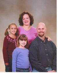 Steve Copp with Family
