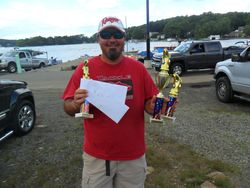 Mike McMahon wins 2-day, big fish, and AOY