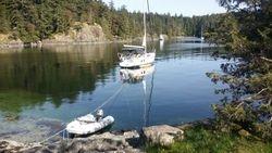 Sunshine Coast BC Sailing,