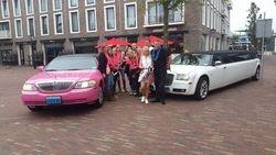 Chrysler en lincoln roze