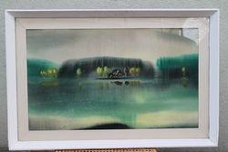 Pranciskaus Porucio akvarele. Kaina 225 Eur.